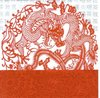 Serviette Red Dragon