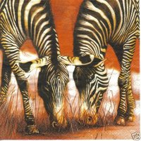 Serviette Friends ! Zebras