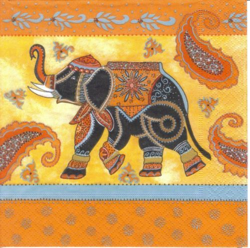 Serviette Indian Elephant