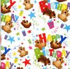Serviette Birthday Bears