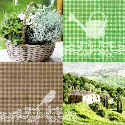 Serviette Country Home Style