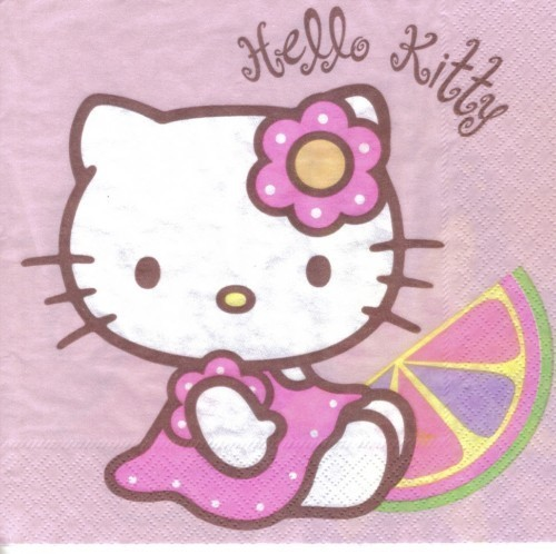 Serviette Hello Kitty Bamboo