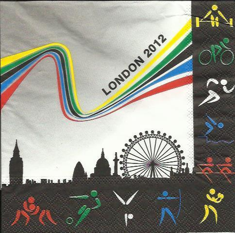 Serviette London 2012