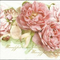 Serviette Mary Roses