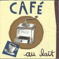 Serviette Cafe au Lait