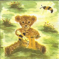Serviette Honey Bear ! Teddy