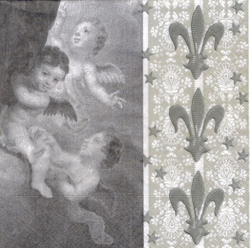 Serviette Angels & French Lily ! Engel