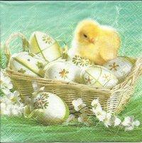 Serviette Beautiful Easter