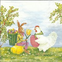 Serviette Easter Experts