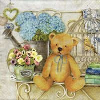 Serviette Teddy Bear