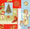 Serviette Christmas Memories