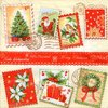 Serviette Christmas Stamps