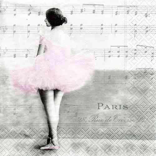 Serviette Ballet Paris