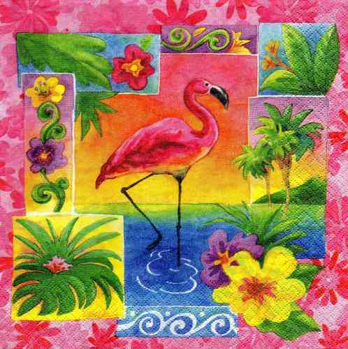 Serviette Tropical Paradise