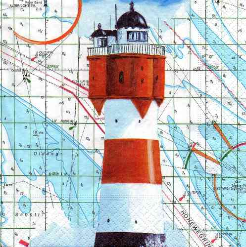 Serviette Nautical Beacon