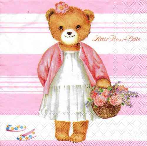Serviette Little Bear Belle