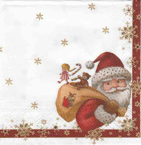 Serviette Toy´s Santa
