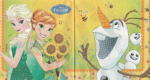 Serviette Frozen Fever