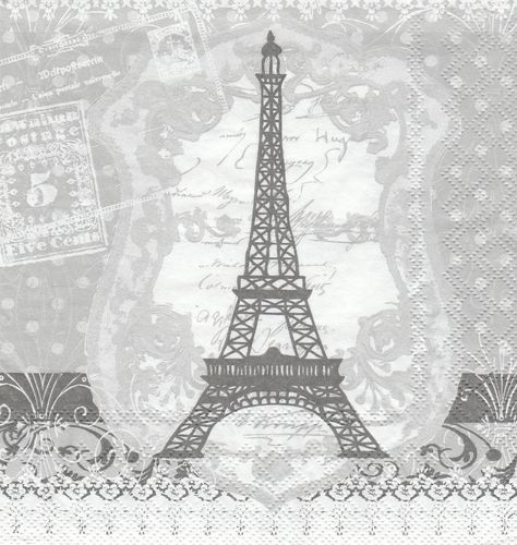 Serviette Eiffel Tower