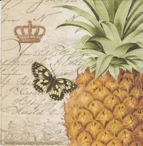 Serviette Royal Pineapple