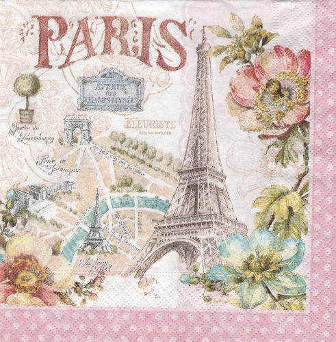 Serviette Forever Paris